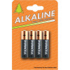 Duracell Plus Power Battery Alkaline AAA Ref AAADURC [Pack 4]