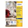Avery Cable Markers Inkjet Tear-proof 12 per Sheet 40x60mm White Ref J8951-10 [120 Labels]