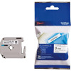 Brother P-Touch M-K221SBZ 9mmx4m BlackonWhite Plastic Labelling Tape Ref MK221SBZ *3to5 Day Leadtime*