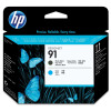 Hewlett Packard [HP] No.91 Printhead MatteBlack & Cyan Ref C9460A *3to5 Day Leadtime*