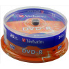Verbatim DVD-R Spindle Ref 43522-1 [Pack 25]