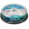 Verbatim DVD+R Spindle Ref 43498 [Pack 10]