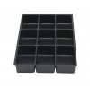 Bisley Insert Tray 2/24 Plastic for Storage Cabinet 24 Sections H51mm Black Ref 224P1