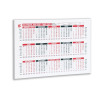 5 Star Office 2020 Wall or Desk Calendar Jan 2020-March 2021 A4 297x210mm White