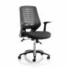 Sonix Relay Mesh Operator Chair Black 500x490x460-550mm Ref OP000115