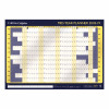 Collins 2018/19 Mid-year Wall Planner Landscape A1 594x840mm White/Navy Ref CWC11 2019