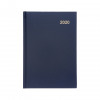5 Star Office 2020 Diary Two Days to Page Casebound and Sewn Vinyl Coated Board A5 210x148mm Blue