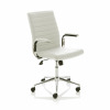 Trexus Ezra SoHo White Leather 480x460x490-590mm Ref EX000189