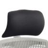 Trexus Flex Headrest White Shell Fabric Black Ref OP000054