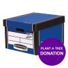 Bankers Box Premium Storage Box Classic Blue Ref 7250603 [12 For 10] [REDEMPTION] Apr-Jun 19