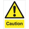 Stewart Superior Caution logo only W150xH200mm Self-adhesive Vinyl Ref WO125SAV