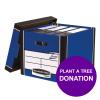 Bankers Box Premium Storage Box Tall Blue Ref 7260603 [12 For 10] [REDEMPTION] Apr-Jun 19