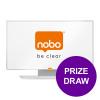 Nobo Enamel Whiteboard Widescreen 32in Magnetic 411x721mm Ref 1905301 [COMPETITION] Apr-Jun 19