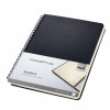 Sigel Conceptum Notebook Hard Cover Lined Micro-Perforated 160 Pages Black Ref CO823