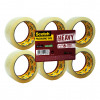 Scotch Heavy Packaging Tape High Resistance Hotmelt 50mmx66m Clear [Pack 6] Ref UU005262835
