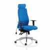 Adroit Onyx Posture Chair Headrest Blue 450x470-540x590-640mm Ref OP000096