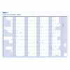 Mark-it 2020 Giant Year Planner Unmounted Landscape with Accessory Kit 1165x820mm Blue/White Ref 20YP