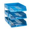 Avery Basics Desk Tidy 7 Compartments Blue Ref 1137BLUE
