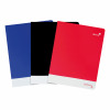 Silvine Soft Touch Perfecto Notebook 75gsm Ruled and Perforated 160pp A5+ Assorted Ref PERA5RBBST[Pack 6]