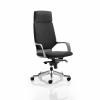 Adroit Xenon Black Shell Head Rest Chair Black 520x470x450-535mm Ref KC0214