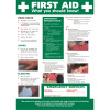 Stewart Superior Health and Safety Law HSE Statutory Poster PVC W420xH595mm A2 Ref FWC80