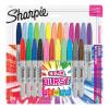 Sharpie Permanent Marker Fine Tip 0.9mm Colour Burst 0.9mm Tip Assorted Ref 1956292 [Pack 24]