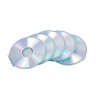 Fellowes CD Cases Round Slimline Clear Ref 9834201 [Pack 5]