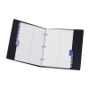 Telephone and Address Book A-Z Index Ring Binder A5 Black