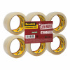 Scotch Packaging Tape Low Noise 50mmx66m Clear Ref 3120CT [Pack 6]
