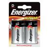 Energizer UltraPlus Battery Alkaline LR20 1.5V D Ref 624682 [Pack 2]