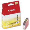 Canon CLI-8Y Inkjet Cartridge Page Life 280pp 13ml Yellow Ref 0623B001