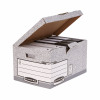 Bankers Box by Fellowes System Flip Top Storage Box FSC Ref 01815 [Pack 10]