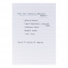 5 Star Office Memo Pad Headbound 60gsm Ruled 160pp A4 White Paper [Pack 10]