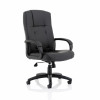 Trexus Sussex Leather Manager Chair 530x520x500-600mm Ref QL817