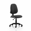Trexus 1 Lever High Back Permanent Contact Chair Charcoal 480x450x460-580mm Ref OP000160