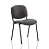 &Trexus Stacking Chair Black Frame Charcoal 480x420x500mm Ref BR000059