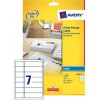 Avery Smartstamp Labels Inkjet All-in-One 14 per Sheet 63.5x38mm/135x38mm Ref J5102-25 [350 Labels]