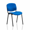 Trexus Stacking Chair Black Frame Charcoal 480x420x500mm Ref BR000059