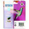 Epson T0805 Inkjet Cartridge Hummingbird Page Life 345pp 7.4ml Light Cyan Ref C13T08054011