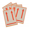 International Handling Labels W74xH105mm Red/White Printed this Way Up [Pack 5]