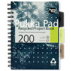 Pukka Pad Recycled Project Book Wirebound Perforated Ruled 5-Divider 200pp 80gsm A5 Ref 6051-REC [Pack 3]