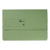 Elba StrongLine Manilla Document Wallet 320gsm 32mm Foolscap Green Ref 100090268 [Pack 25] [REDEMPTION]