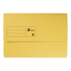 Elba Strongline Manilla Document Wallet 320gsm Capacity 32mm Foolscap Yellow Ref 100090141 [Pack 25]