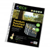 SSeco Pocket Polypropylene Oxo-biodegradable Top-opening 80 Micron A4 Glass Clear Ref PP80 [Pack 50]