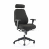 Trexus Mesh Back Armchair Black 500x480x450-550mm Ref 10892-02