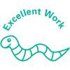 Trodat Classmate Stamp Worm Excellent Work Ref 61748