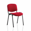 &Trexus Stacking Chair Black Frame Red 480x420x500mm Ref T0477A008