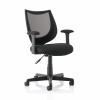Trexus Gleam SoHo Mesh Operators Chair Black 470x480x410-510mm Ref 11027-03