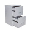Filing Cabinet Steel 2 Drawer A4 400x400x660mm Ref 95000