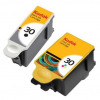 Kodak 30B & 30CL Inkjet Cartridge Page Life 335pp Black/275pp Tri-Colour Ref 9039745 [Pack 2]